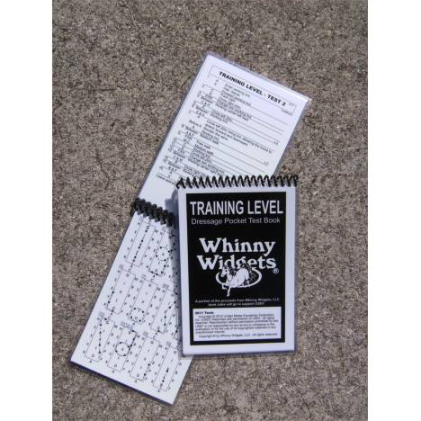 Whinny Widgets 2015 Dressage Test Book - Training Level