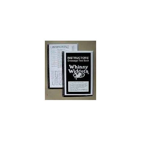 Whinny Widgets Intructors 2015 Dressage Test Book