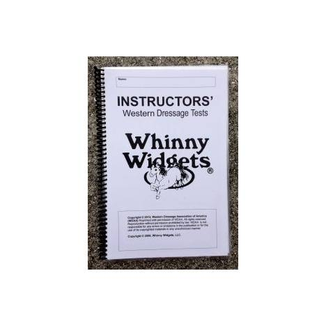 Whinny Widgets 2015 Western Dressage Test Book - Instructors
