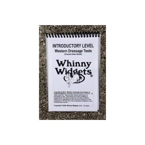 Whinny Widgets 2015 Western Dressage Test Book - Intro Level