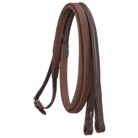 Silver Fox Rubber Grip Reins