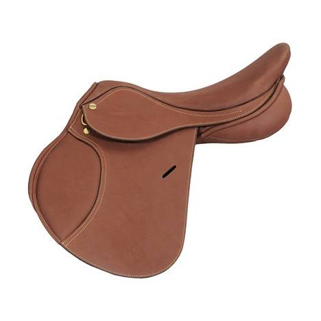 Henri De Rivel Advantage Close Contact Grip Saddle - Flocked