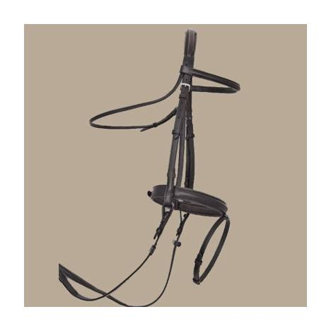 ThinLine Dressage Bridle with Flash