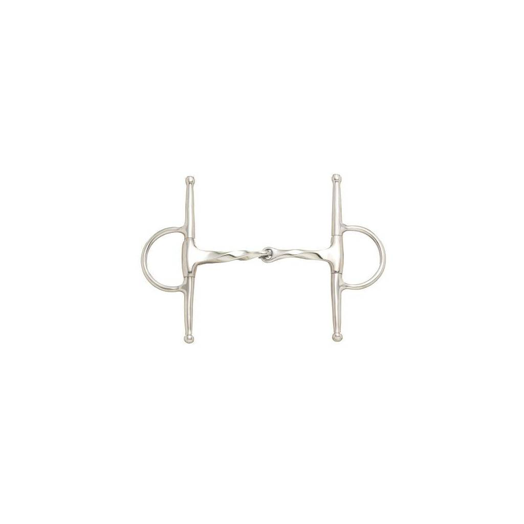 Kelly Silver Star Twisted Mouth Full Cheek Snaffle