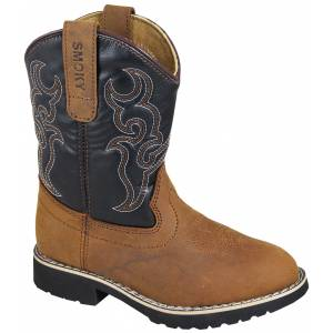 Smoky Mountain Randy Boots - Youth - Brown