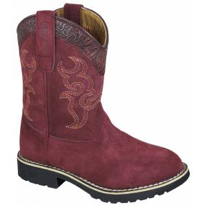 Smoky Mountain Boots - Children's - Burgundy