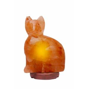 Himalayan Rock Salt Cat Lamp
