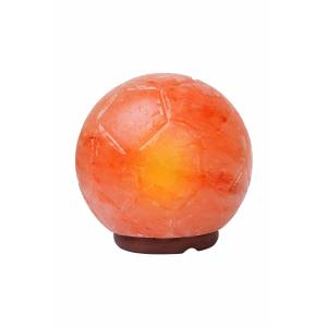 Himalayan Rock Salt Soccer Ball Lamp