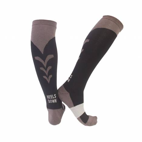 C4 Socks Black Riding Socks