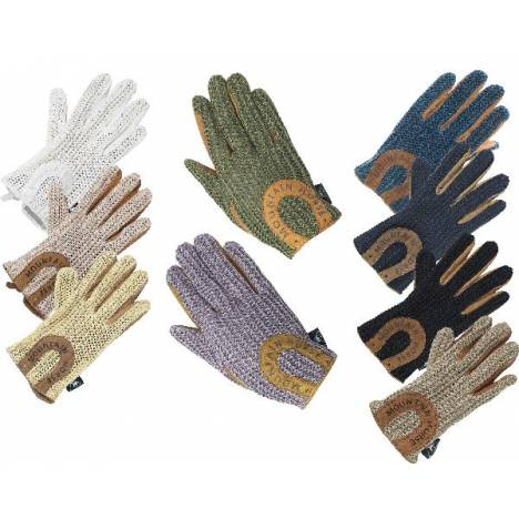 Mountain Horse Crochet Gloves - Ladies