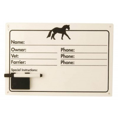 Roma Collection Horse Name Plate Set