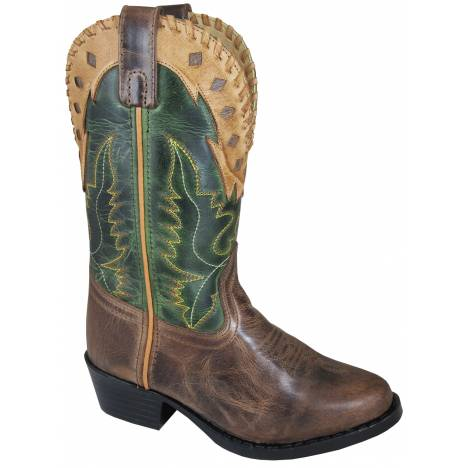 Smoky Mountain Reno Boots - Children's - Brown/Green