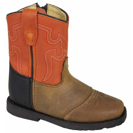 Smoky Mountain Autry Boots - Toddler - Brown/Orange