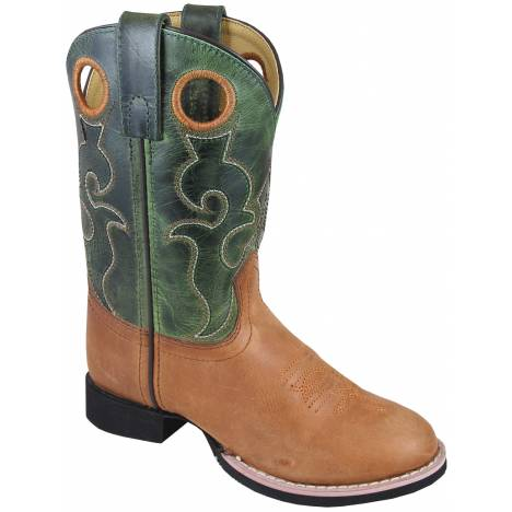 Smoky Mountain Rick Boots - Children's - Tan/Green