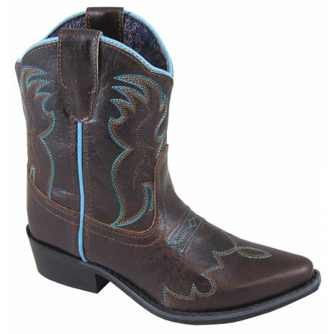 Smoky Mountain Juniper Boots - Youth - Brown/Turquoise