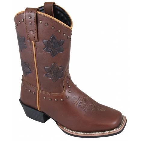 Smoky Mountain Lilac Boots - Youth - Brown