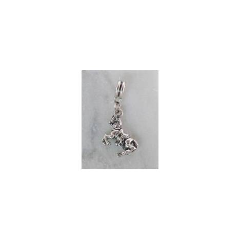 Joppa 2-Tone Dangle Bead - Jumping Horse