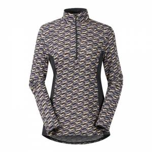 Kerrits Ladies Ice Fil Long Sleeve Print Shirt