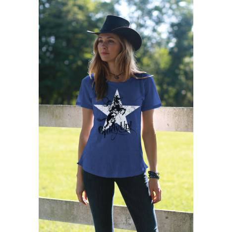 Chestnut Bay Ladies Vintage Tee - Giddy Up