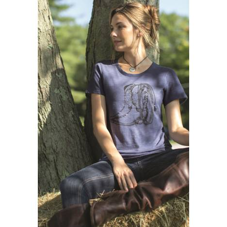 Chestnut Bay Ladies Vintage Tee - Boots N Lasso