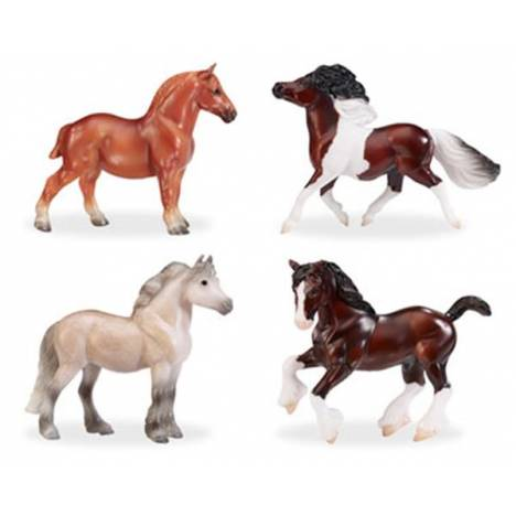 Breyer Stablemate Pony and Draught Set