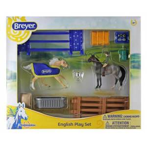 Breyer 2017 Stablemates English Play Set