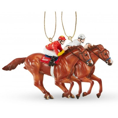 Breyer Ornament Justify - 2018 Triple Crown Winner