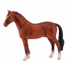 Breyer by CollectA - Chestnut Hanoverian Stallion