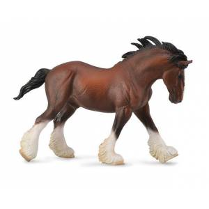 Breyer by CollectA - Bay Clydesdale Stallion