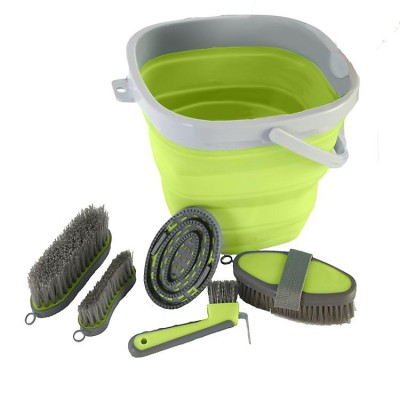 Collapsible Grooming Bucket Set