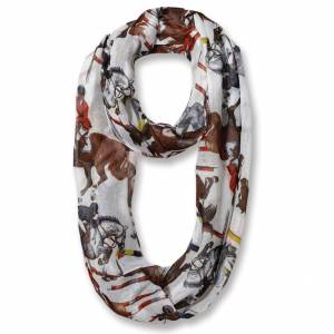 Kelley Jumpers with Riders Infinity Scarf