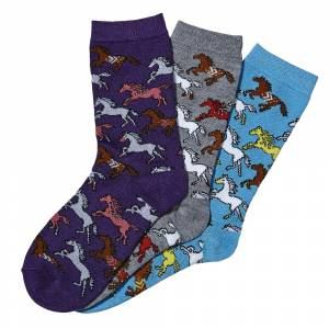 Kelley Southwest Ponies Crew Socks