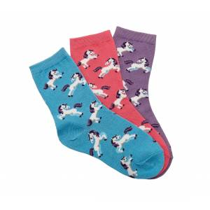 Kelley Dancing Horses Crew Socks - 3-Pack