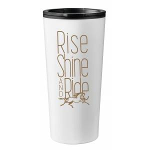 Kelley Travel Mug Tumbler - Rise Shine & Ride