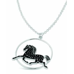 Kelley Dapple Horse Pendant Necklace