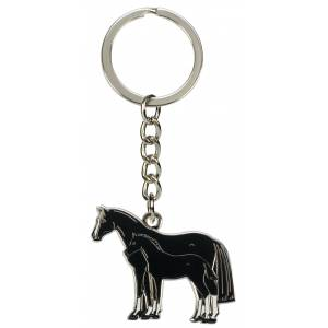 Kelley Mare and Foal Keychain