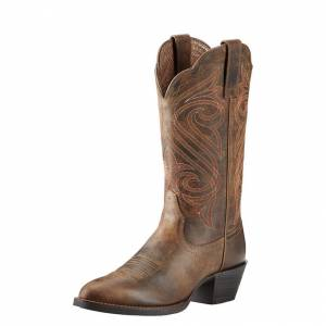 Ariat Ladies Round Up R Toe Western Boots