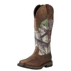 Ariat Mens Conquest Snakeboot Waterproof Hunting Boots