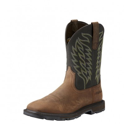 Ariat Mens Harvester Wide Square Toe Boots