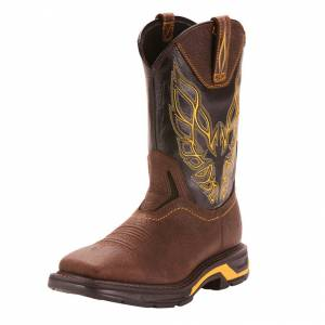 Ariat Mens Workhog XT Firebird Work Boots