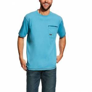 Ariat Mens Rebar Short Sleeve Workman T-Shirt