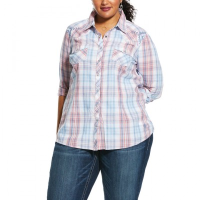 Ariat Ladies REAL Lovely Snap Shirt