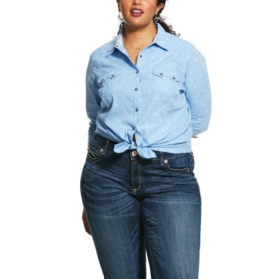 Ariat Ladies REAL Lucky Snap Shirt