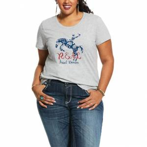 Ariat Ladies REAL Rider Tee