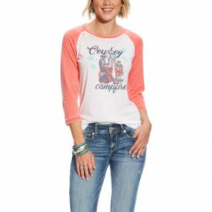 Ariat Ladies Campfire Raglan Tee