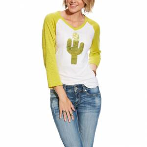 Ariat Ladies Saguaro Raglan Tee