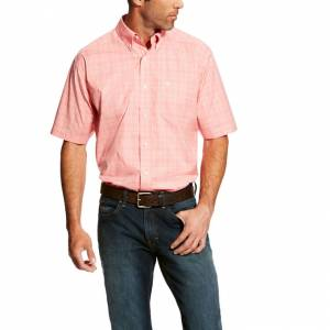 Ariat Mens Harper Short Sleeve Stretch Performance Shirt