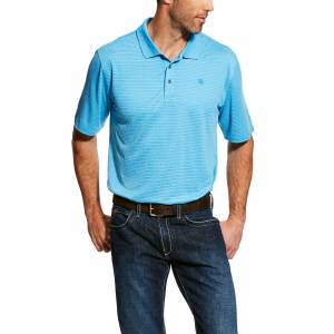 Ariat Mens Fade Tek Polo