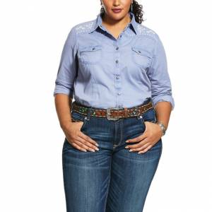 Ariat Ladies REAL Brilliant Snap Shirt