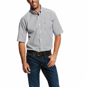 Ariat Mens Nickels Short Sleeve Print Shirt